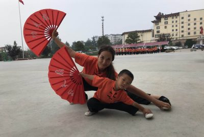 Kung Fu waaier
